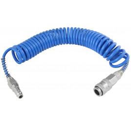 Wąż spiralny przewód PU - poliuretan 6x4 3m