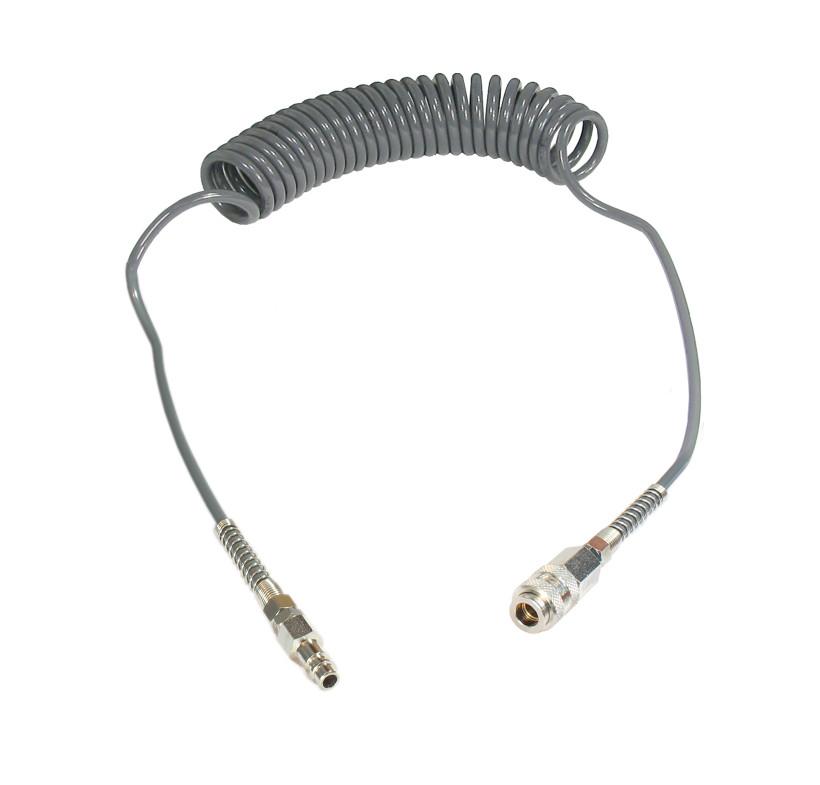 Wąż spiralny przewód PU - poliuretan 8x5mm 15m GERMAN TYPE GAV