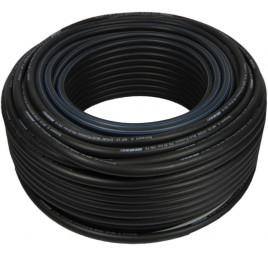 Wąż elektrostatyczny MP 20-08 czarny 8x15 -1m