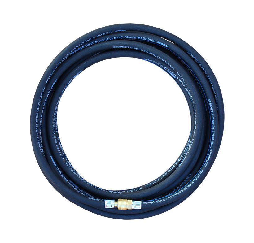 Wąż elektrostatyczny uzbrojony  8x15 -15m