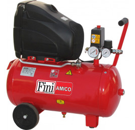 Sprężarka tłokowa FINI AMICO 25/SF2500 - 24l zbiornik