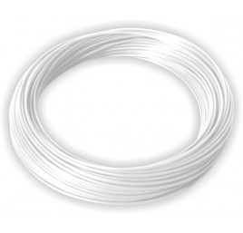 Przewód Nylon PA 4x2 biały