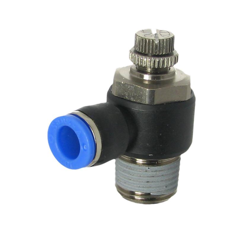 SC1200- 4-M5 zawór dławiąco-zwrotny