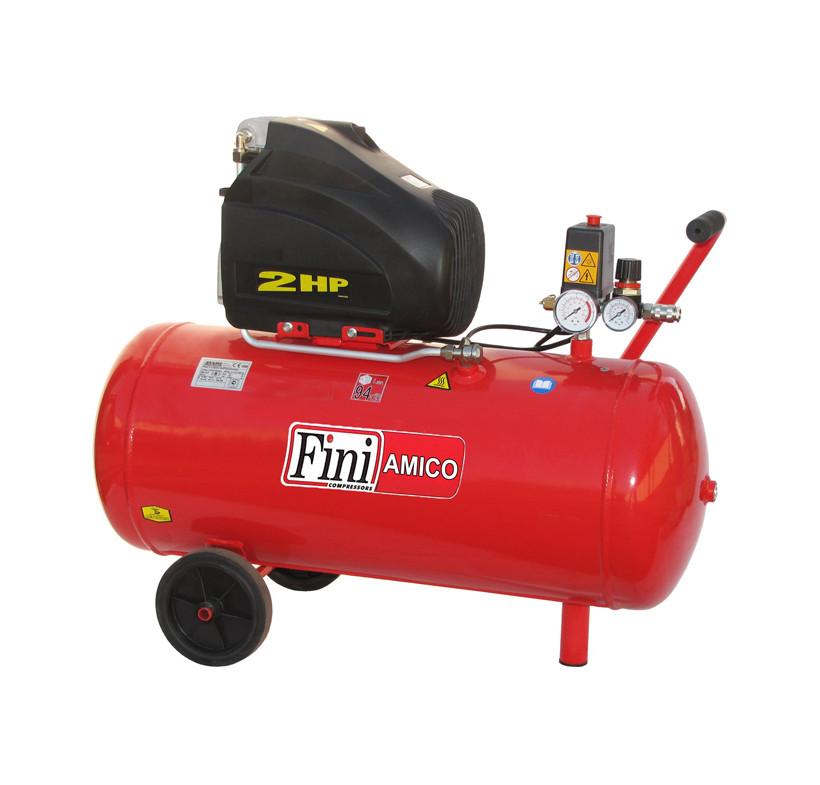 Sprężarka tłokowa FINI AMICO 50/SF2500 - 50l zbiornik