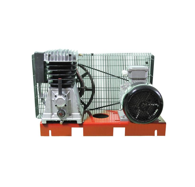 Zestaw sprężarkowy 4 kW 400 V dwustopniowy