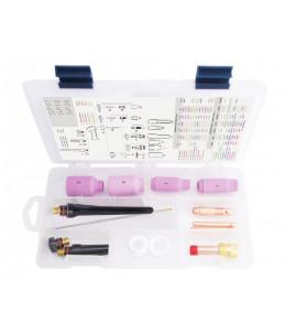 TIG BOX STANDARD 17/18/26 zestaw na elektrodę 1.6mm