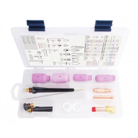 TIG BOX STANDARD 17/18/26 zestaw na elektrodę 3.2mm