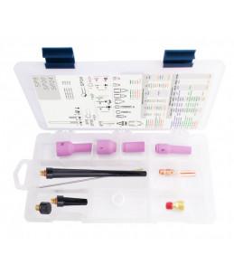 TIG BOX STANDARD 9/20 zestaw na elektrodę 2.4mm