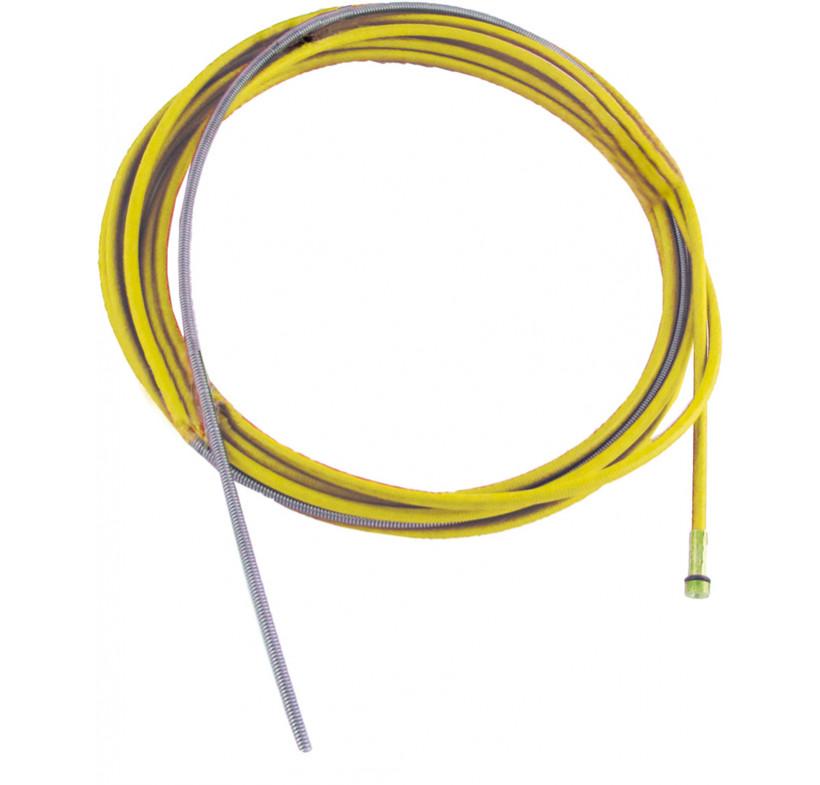 Wkład prowadnik drutu 1.2-1.6--4.0m żółty