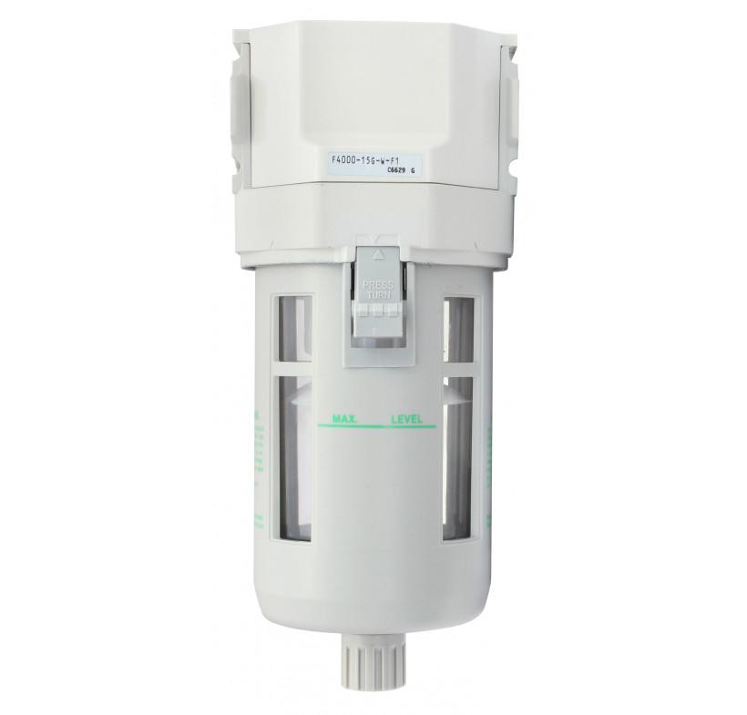 CKD  F4000-15G-F1 filtr 1/2' woda automatyczny spust