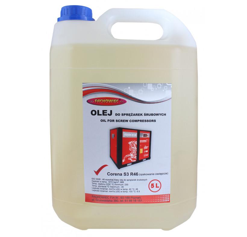 Olej sprężarki śrubowej CORENA D46 5L