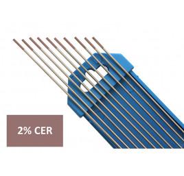 Elektroda nietopliwa TIG WC20 1.6x175mm szara
