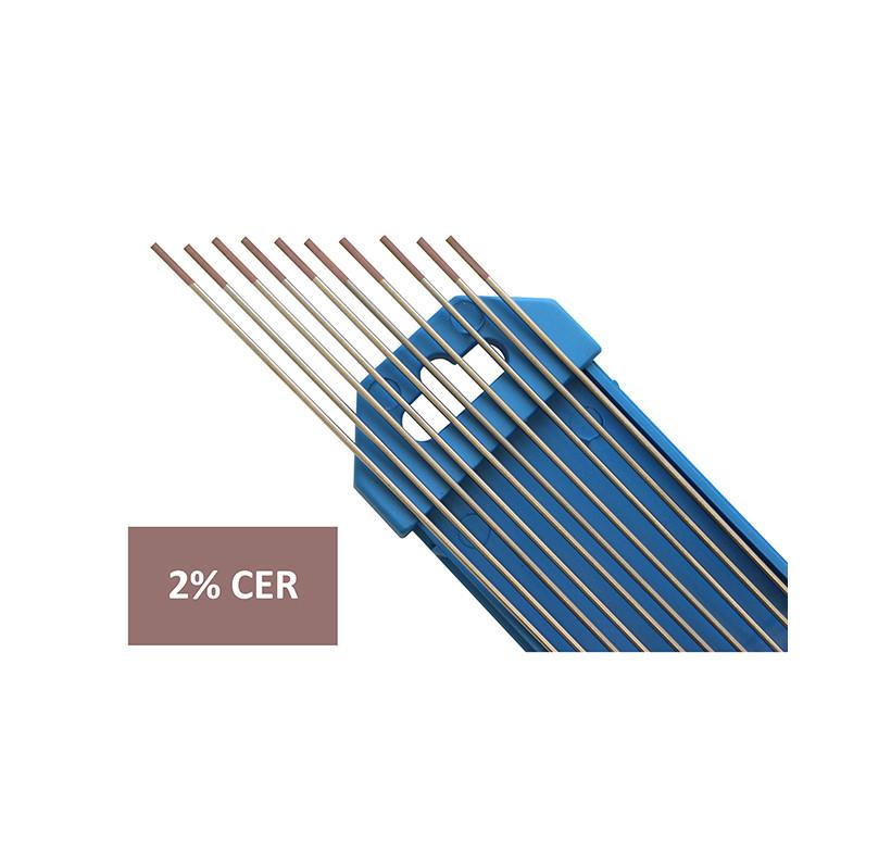 Elektroda nietopliwa TIG WC20 2.0x175mm szara
