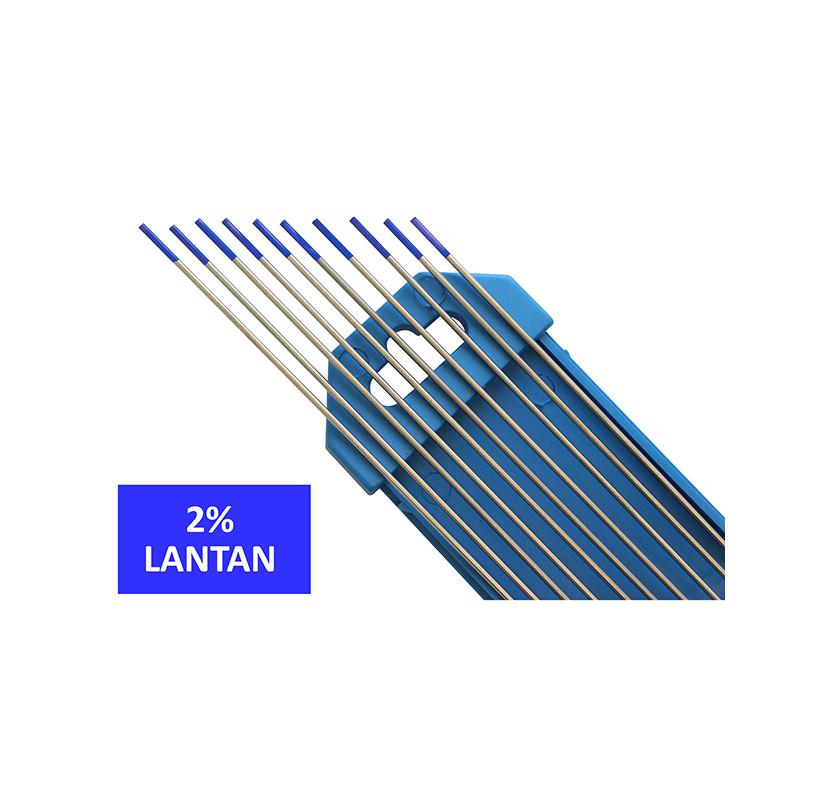 Elektroda nietopliwa TIG WL20 2.4x175mm niebieska