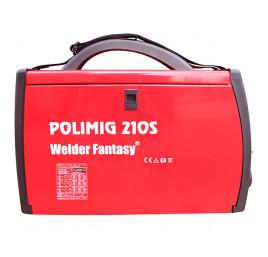 Półautomat spawalniczy inwerterowy 3w1 POLIMIG 210 MIG/MAG TIG MMA Welder Fantasy + komplet uchwytów
