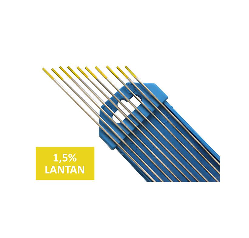Elektroda nietopliwa TIG WL15 1.0x175mm złota