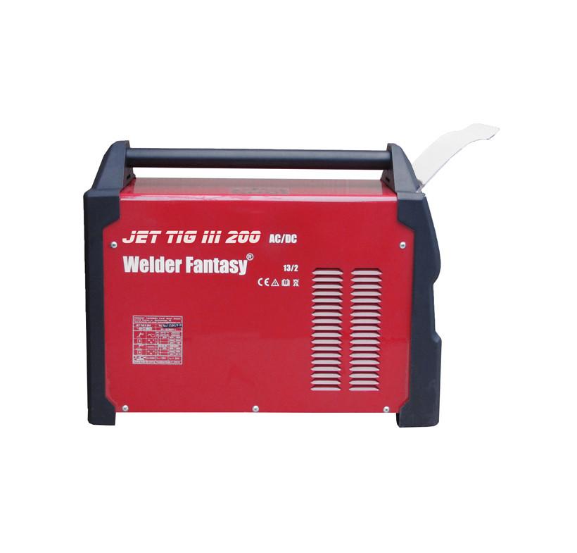 Spawarka inwertorowa JET TIG III AC/DC 200 3w1 IGBT PFC PLASMA Welder Fantasy+uchwyt tig parker