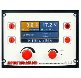 EXPERT MIG 215 LCD MIG/MMA/TIG SYNERGIC ALU - 4
