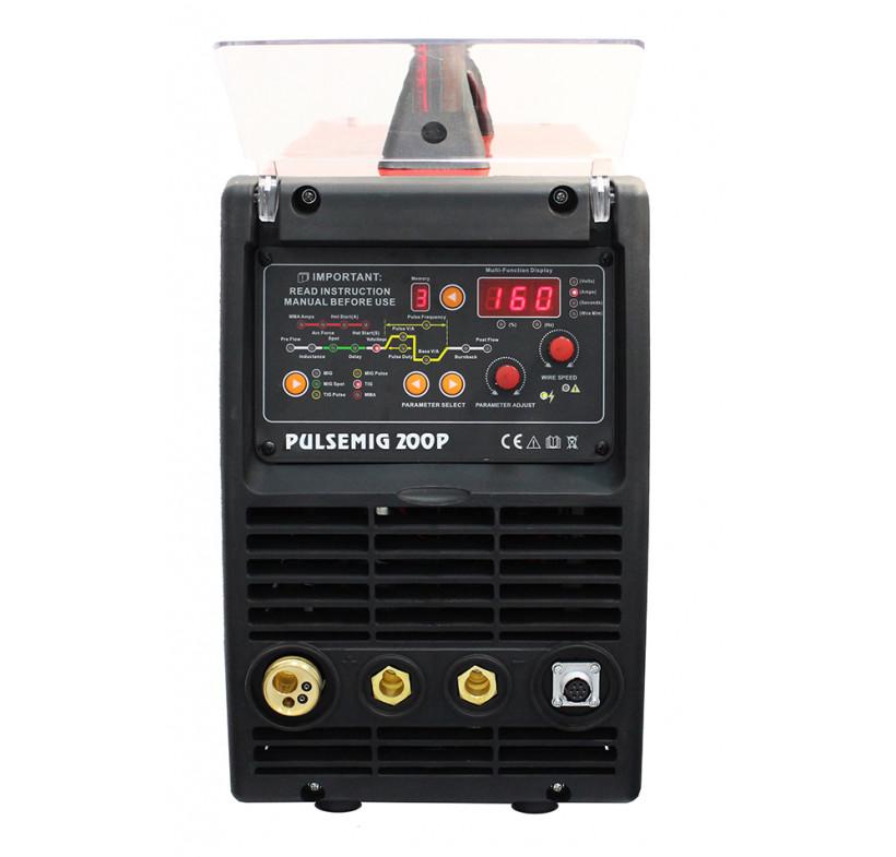 Półautomat spawalniczy inwerterowy 3w1 PULSEMIG 200 160A Welder Fantasy