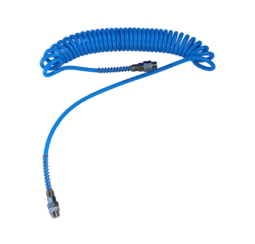 Wąż spiralny przewód 6x4 4m poliuretan