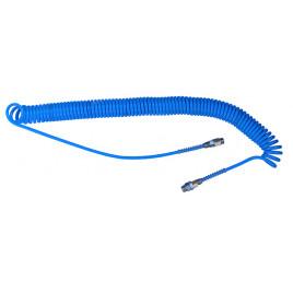 Wąż spiralny przewód 6x4 8m poliuretan
