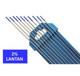 Elektroda nietopliwa TIG WL20 2.0x175mm niebieska