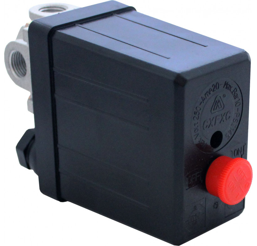 Presostat sprężarki wyłącznik ciśnieniowy SPR.5001 230V/8 bar