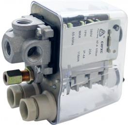 Presostat sprężarki wyłącznik ciśnieniowy CH SPR.5004HP 400V/10bar/20A