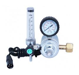 Reduktor CO2 ARGON z rotametrem i podgrzewaczem 36V