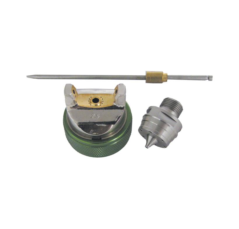 Zestaw dysz PROFESSIONAL/VINCENT HVLP 2.5mm