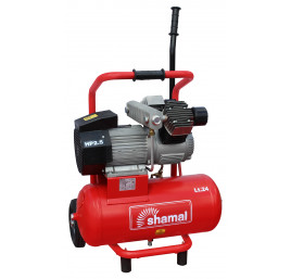 Sprężarka tłokowa kompresor Shamal HD65DV/24  330/24 1450 obr 230V 10 bar