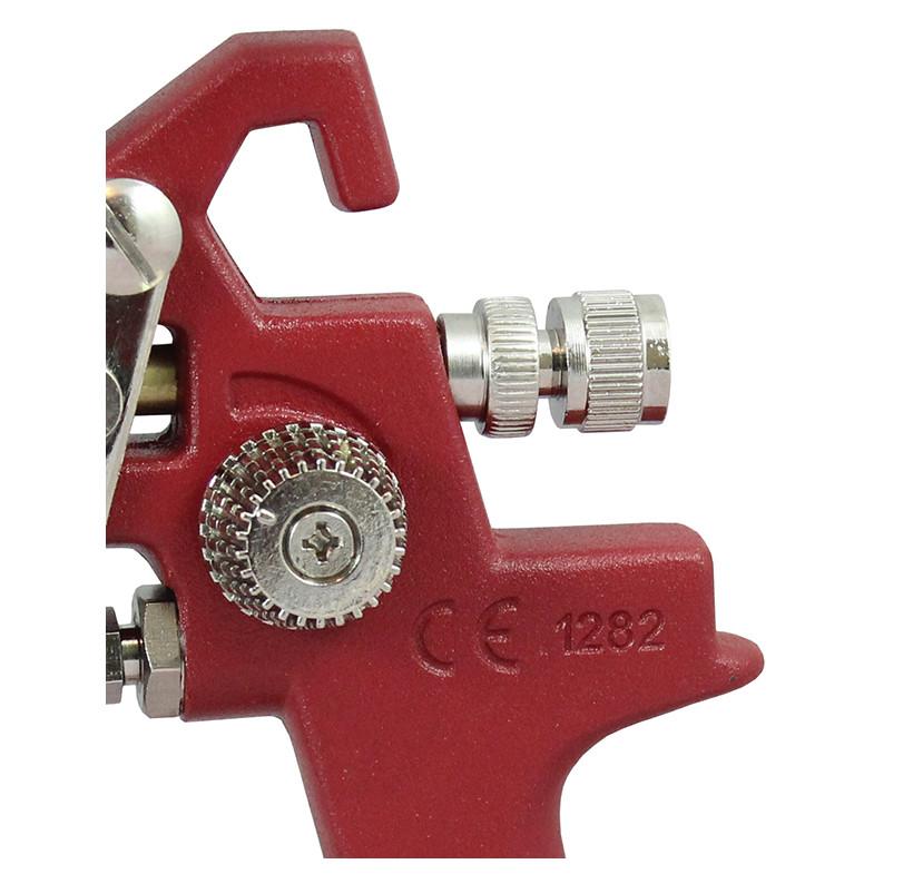 Pistolet lakierniczy SPEEDWAY czerwony HP 1.8mm