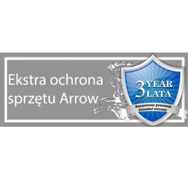 ARROW - Wydłużona gwarancja - 3 lata ARROW 18.5-30kW