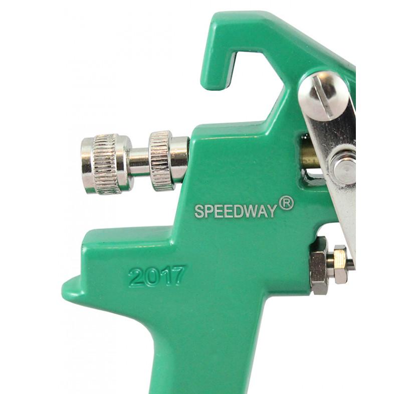 Pistolet lakierniczy SPEEDWAY zielony HVLP 2.5mm