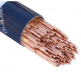 Bohler TIG drut spawalniczy pręt EML5/W2Si/ER70S-3 stal niskostopowa 2.4x1000/opk. 5kg (cena za 1kg)