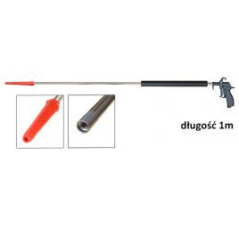 Pistolet do dmuchania oraz czyszczenia wkładów filtrów przemysłowych 1m 'PROFI 40' prosty