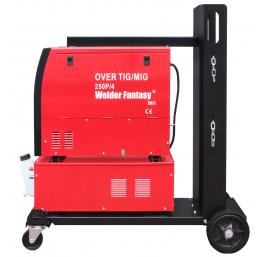 Półautomat spawalniczy 3w1 OVER 250 4x4-15KG MIG/MAG/TIG AC/DC/MMA+chłodnica+wózek Welder Fantasy