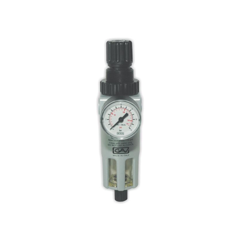 Reduktor + filtr  1/4' GAV mini