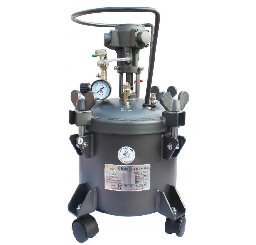 Zbiornik ciśnieniowy 10L z mieszadłem + 5m przewód