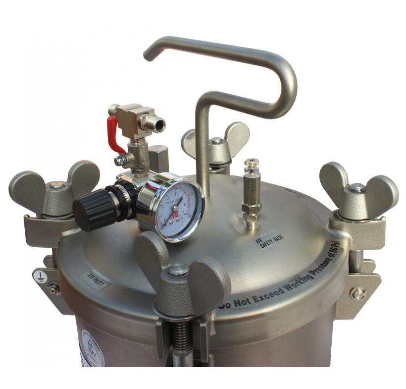 Zbiornik ciśnieniowy 10L nierdzewny