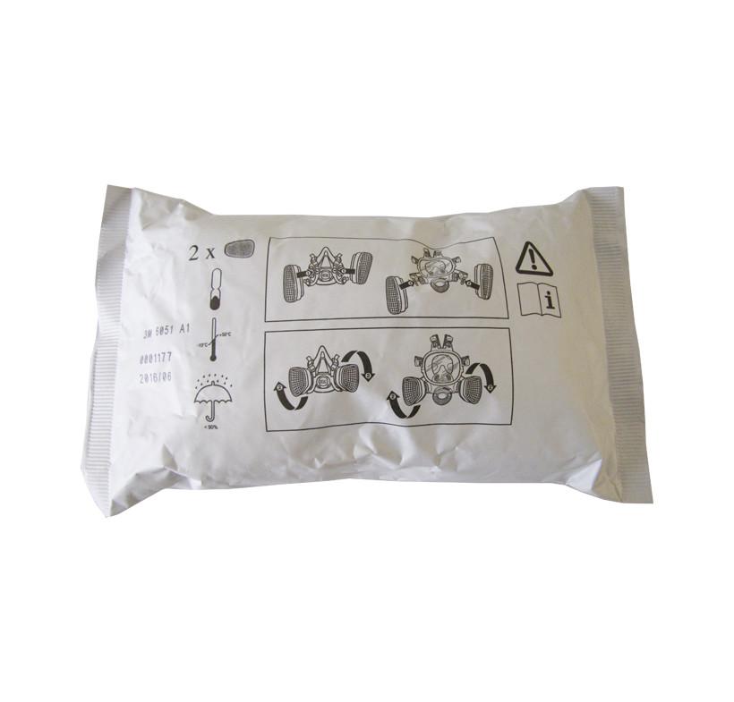Pochłaniacz 3M A1 przeciw oparom organicznym 1szt 0.5kpl 1kpl na jedną maskę
