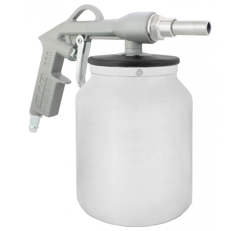 Pistolet antykorozyjny ze zbiornikiem
