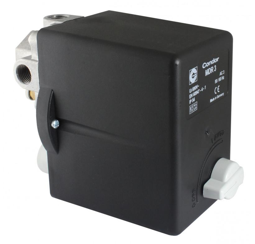 Presostat sprężarki wyłącznik ciśnieniowy MDR3/11 6A 2.2kW 400v