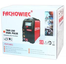 Półautomat spawalniczy 3w1 TRIO DUAL PULSE 230A MIG/MAG TIG MMA Welder Fantasy