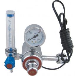 Reduktor butlowy CO2 MINI rotametr + podgrzewacz 36V