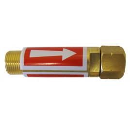Bezpiecznik przypalnikowy acetylen