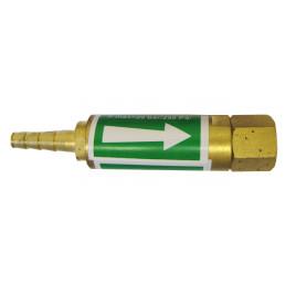 Bezpiecznik przypalnikowy tlen