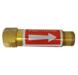 Bezpiecznik przyreduktorowy acetylen
