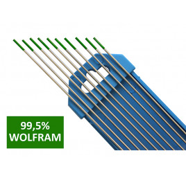 Elektroda nietopliwa TIG WP 1.0x150mm zielona AL