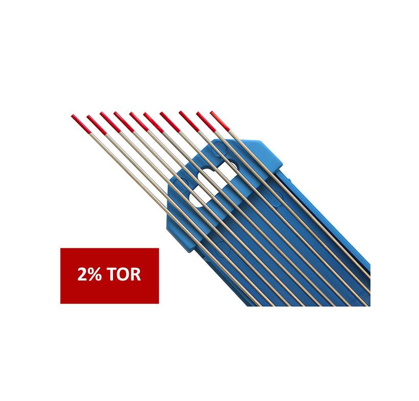 Elektroda nietopliwa TIG WT20 2.4x175mm czerwona